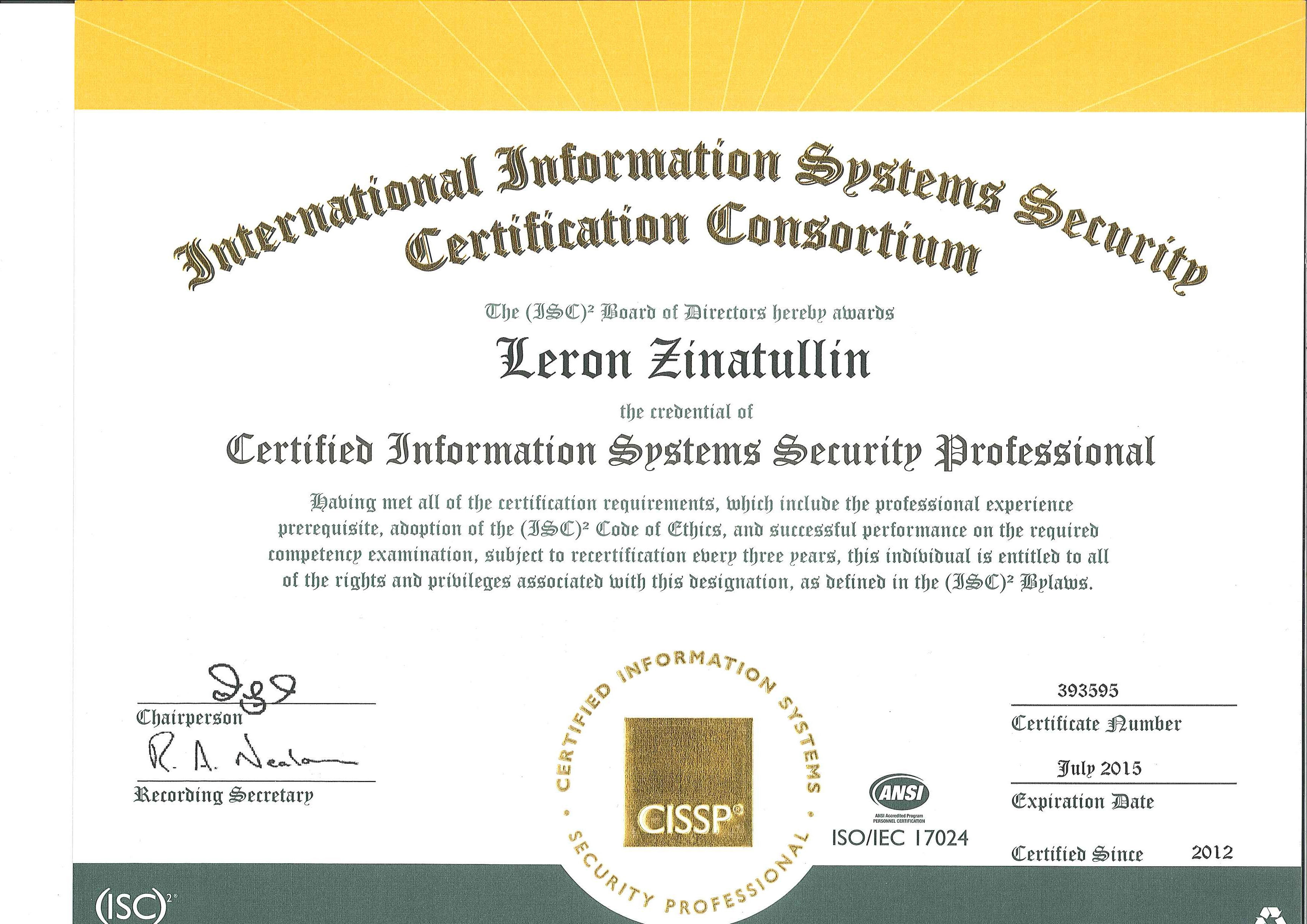 Beautiful pictures of cissp certification cost business cards about me from cissp certification cost image source zinatullin xflitez Images