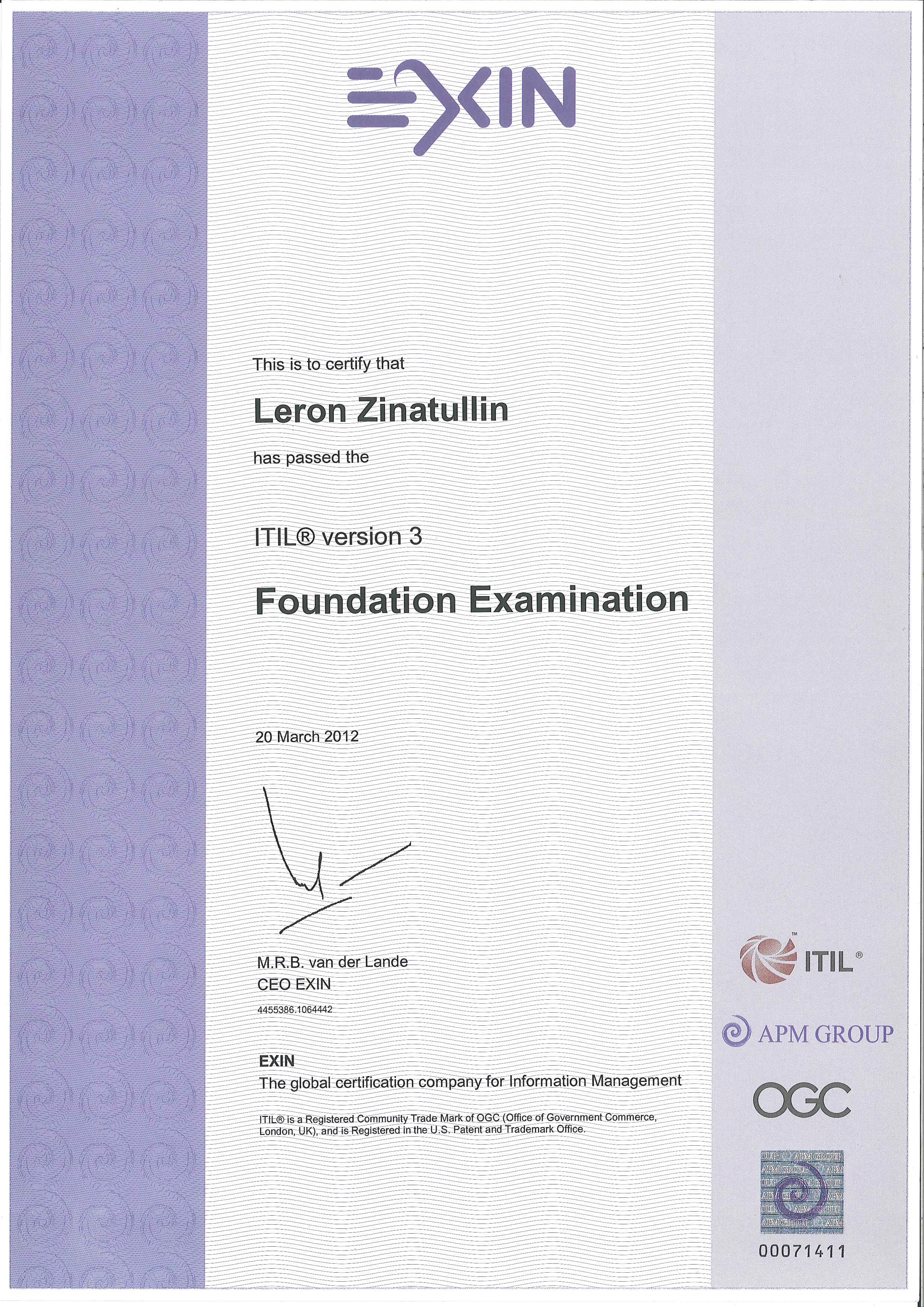 About Me Leron Zinatullins Blog