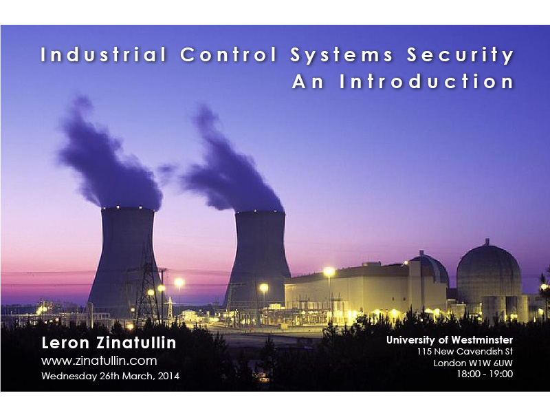 Industrial Control Systems Security | Leron Zinatullin's Blog