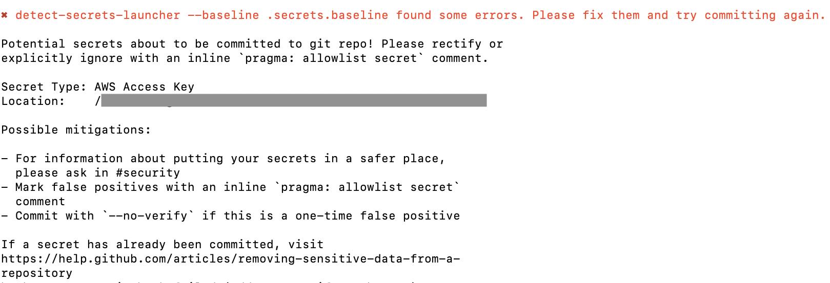 detect-secrets